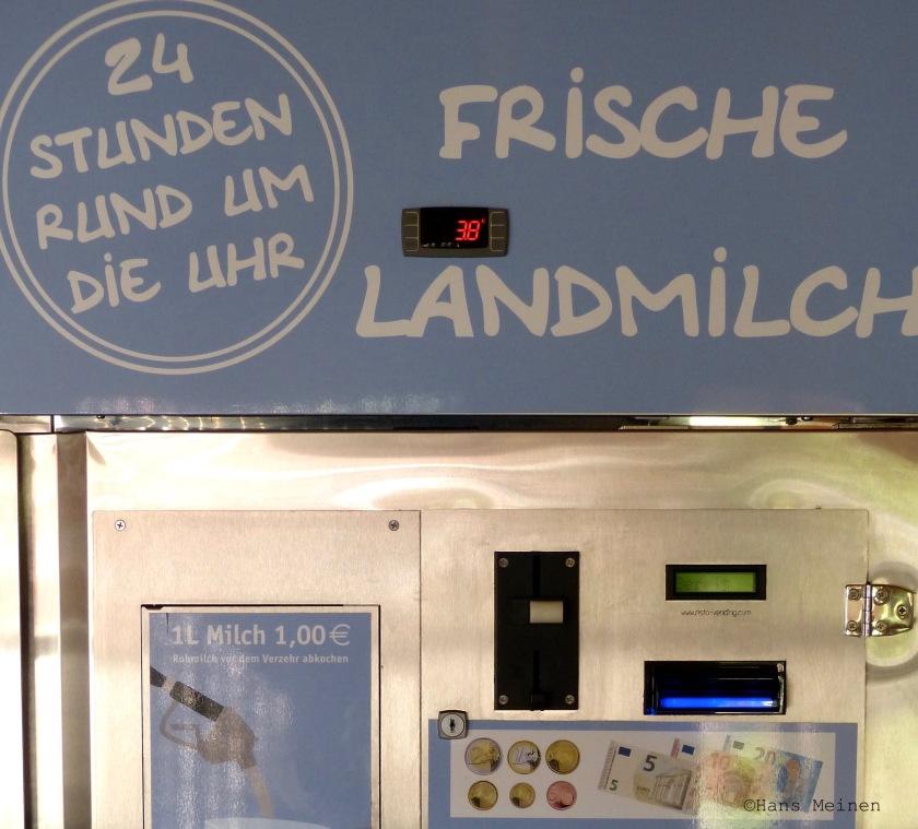 Nachhaltige Milch von der Milchtankstelle