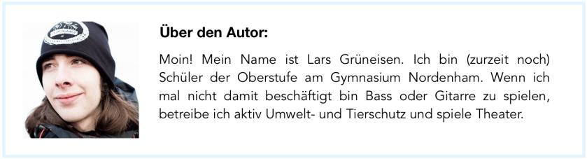Autorenprofil Lars Grüneisen