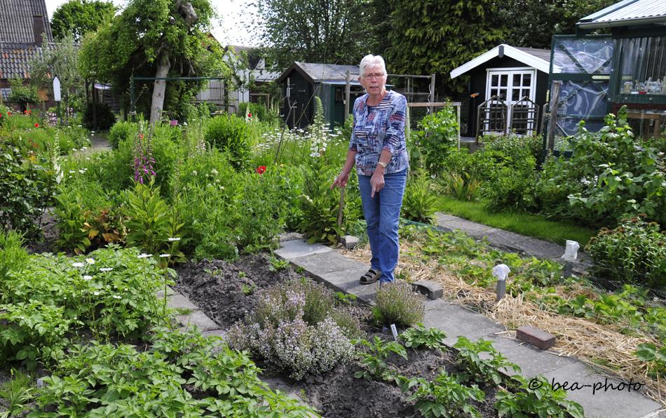 Gärtnern zur Selbstversorgung und zum ERhalt der alten Nutzpflanzen.