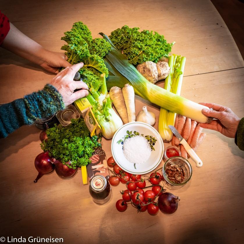 Zutaten-Gemüsepesto-Gemüsepaste-DIY