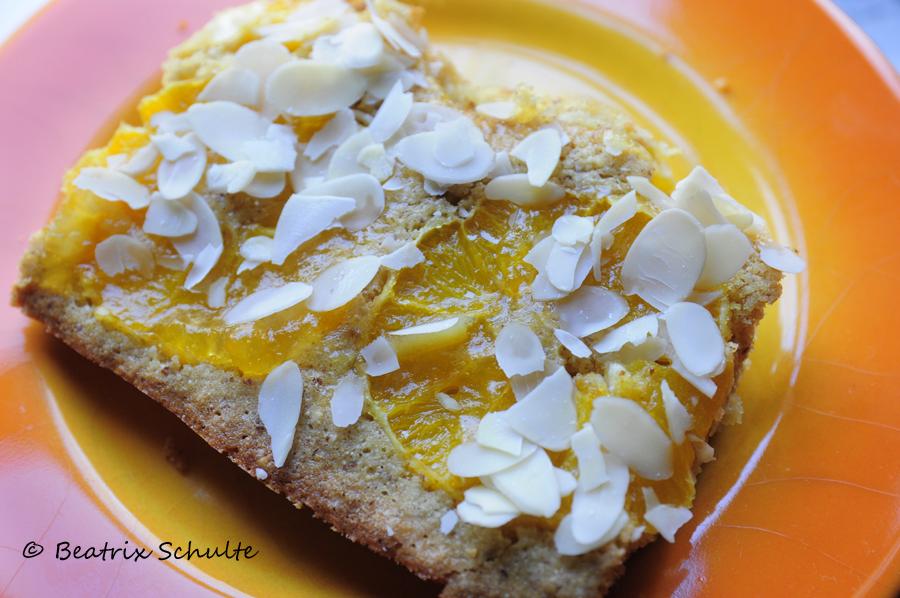 Orangen-Grießkuchen